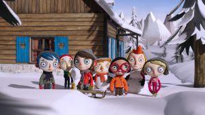 Kuva animaatioelokuvasta Elämäni kesäkurpitsana.