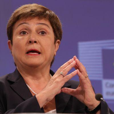 Bulgariens kommissionär Kristalina Georgieva.
