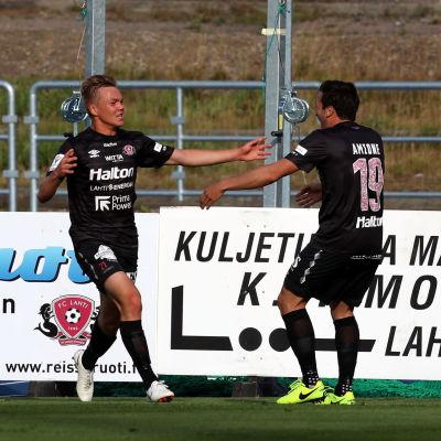 Pyry Lampinen gjorde mål mot Ilves.