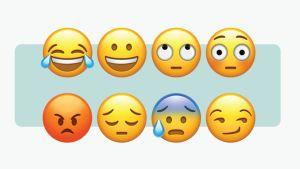 Flera emojier på rad