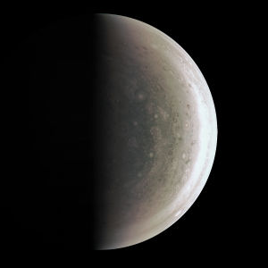 Planeten Jupiter.