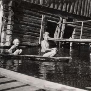 Pentti-Oskari Kangas sisko meri kesä veneily