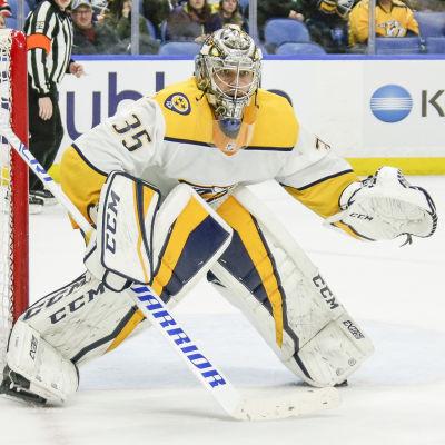 Pekka Rinne i Nashvilles mål