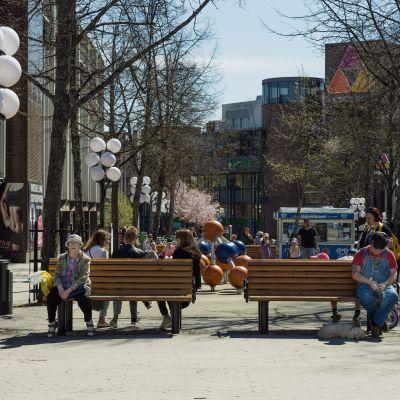Keravan Kauppakaari on yksi Euroopan pisimmistä kävelykaduista.