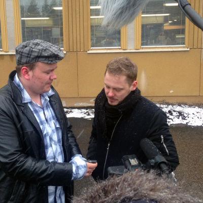 Lähiö - reunalla -realityn nuori Markus ja Jonne Aaron