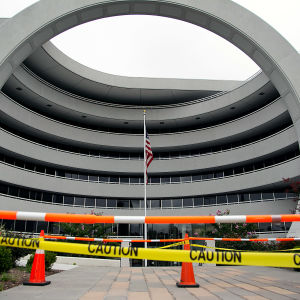 FinCENin rakennus Yhdysvalloissa.