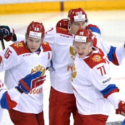 Ryssland, ishockey.
