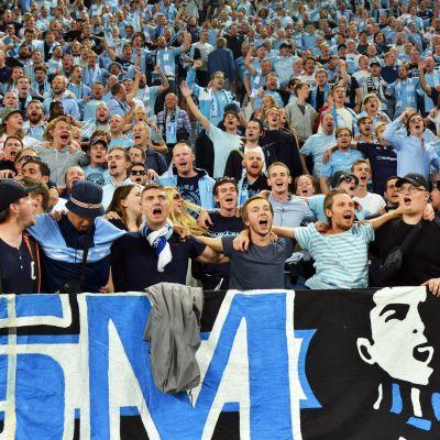 Malmö FF-supportrar