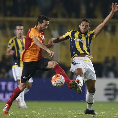 Fenerbahce mot Galatasaray hösten 2015.