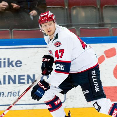 Juuso Salmi representerar HIFK.