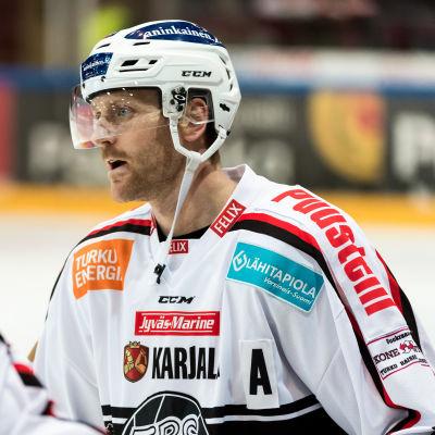 Henrik Tallinder tror inte TPS spel på lördagen räcker till i Vasa.