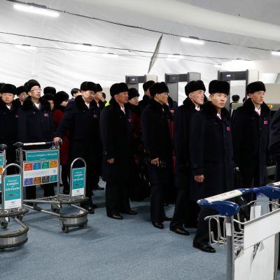 Pohjois-Korean delegaatio saapui torstaina Etelä-Koreaan.