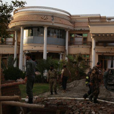 Kätilökeskus Jalalabadissa