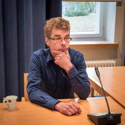 Eino Holck Lapin käräjäoikeudessa 11. lokakuuta 2018