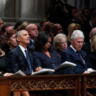 Presidentti George H. W. Bushin hautajaiset