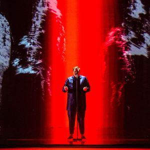 Aksel Kankaanranta esittää biisinsä Lookin Back.