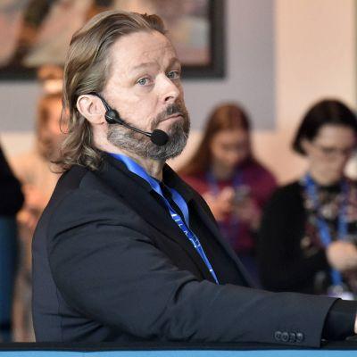 Marko Yrjövuori helmikuussa 2020