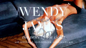 Wendy James, signerat omslag till skivan The Price Of The Ticket.