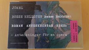 Pärmen till Bosse Hellstens roman Jökel