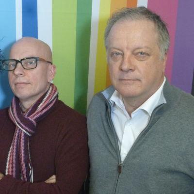 Jorma Hietamäki, Marko Gustafsson ja Matti Rönkä Levylautakunnassa