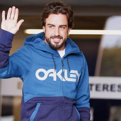 Fernando Alonso lämnade sjukhuset den 25 februari.