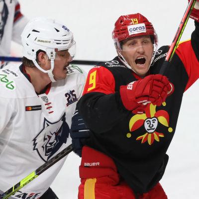 Roman Graborenko och Veli-Matti Savinainen