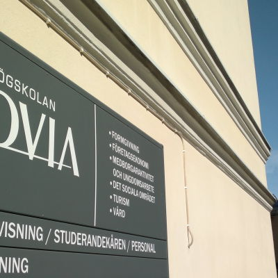 Novias campus i Åbo våren 2014