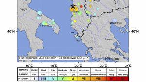 Kraftigt Jordskalv I Albanien Minst 16 Personer Har Omkommit