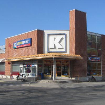 Keskos mataffär i Karis centrum.