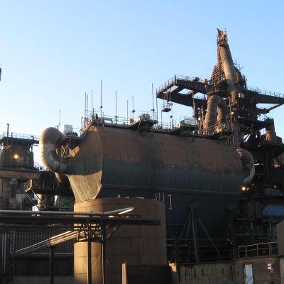 Ovakos stålverk i Koverhar