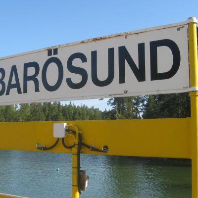 Barösunds färja