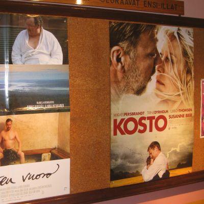 Affischer från Ekenäs filmfest
