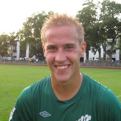 fotbollssEIF:s Johan Estlander gjorde två mål på onsdagskvällen.