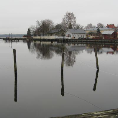 Södra viken invid gamla stan i Ekenäs