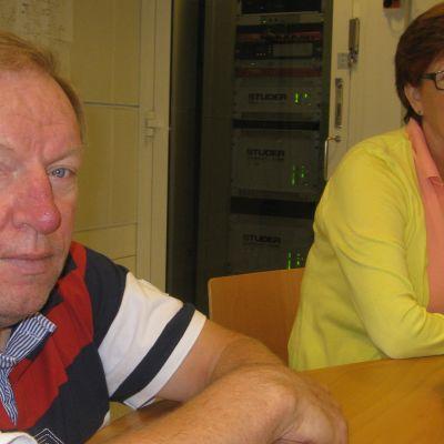 Håkan Roos och Kerstin Ståhlberg.