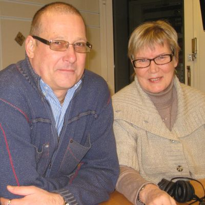 Måndagssnackarna Egon Blomqvist och Lea Adolfsson