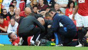 Rooney skadad