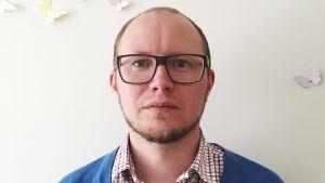Ätstörningsföreningen i Finlands ordförande Rasmus Isomaa har forskat i manlig ätstörning.