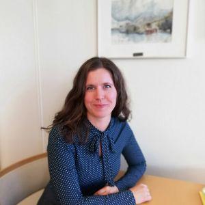 Kommundirektör Jenny Malmsten i Malax