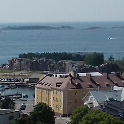 Drottningberg i Hangö.
