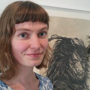 Katariina Timonen, kurator på Amos Anderssons konstmuseum