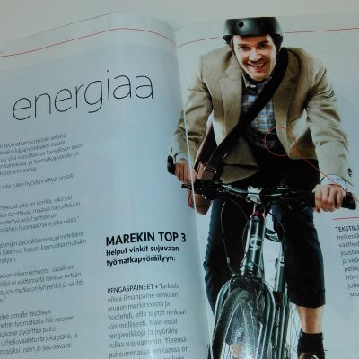 Marek Salermo i advertorial