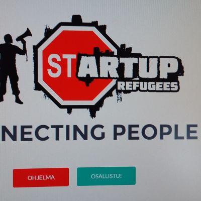 Flyktingprojekt Startup Refugee