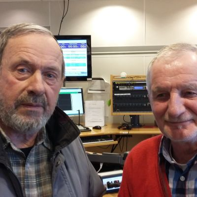 Nils Jansson och Leif Mildh leder ÖSK Bingo i Ekenäs