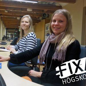 Johanna Myllymäki och Johanna Simonen studerar vid ÅA:s pedagogiska fakultet