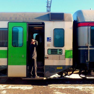 Tågkonduktör