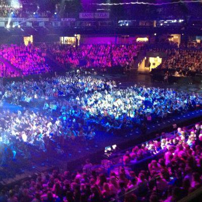 Över 7 000 elever och lärare deltog i skolmusik 2013 slutkonserten