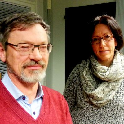 Michael Luther och Lena Gammelgård