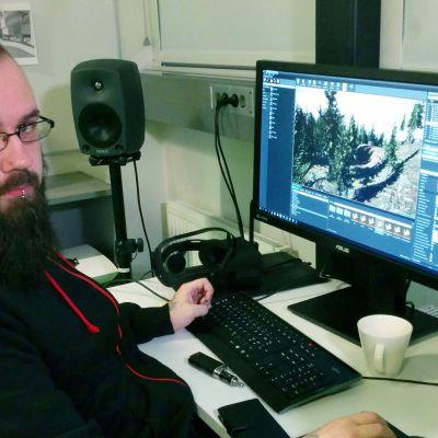 Mika Vesitie Joensuu Games Osuuskunnan puheenjohtaja.