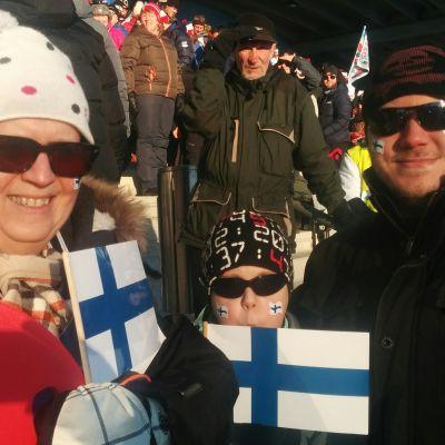 Merja, Miko ja Hannu Heiskanen